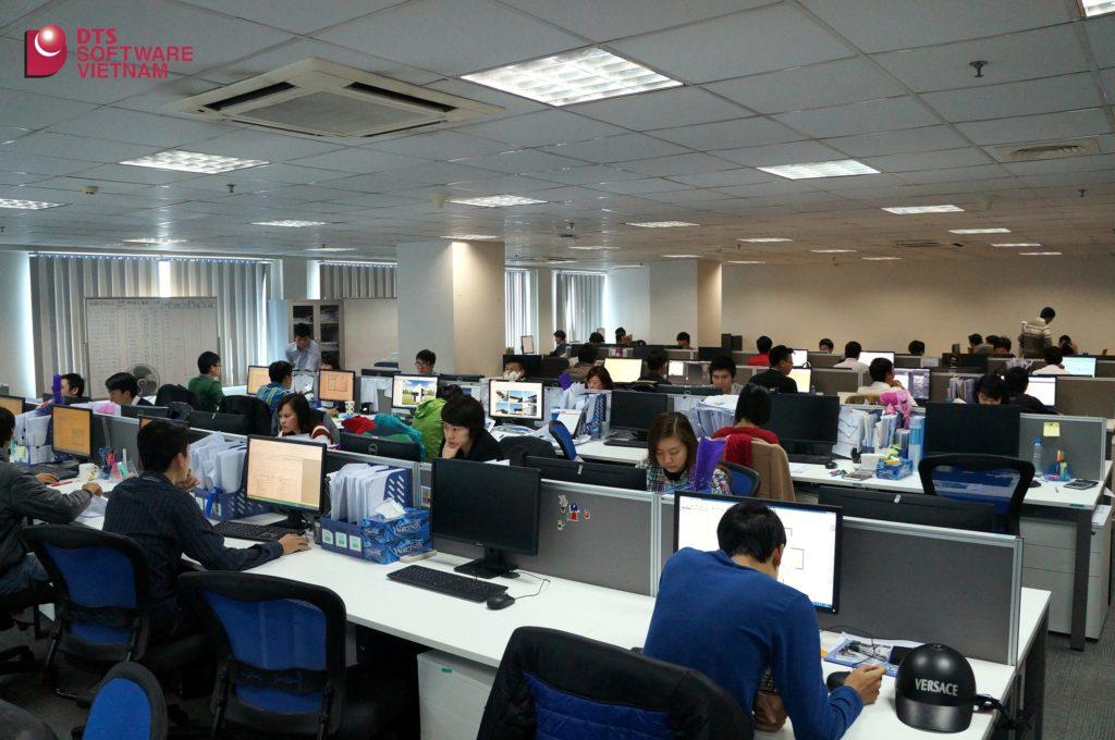 DTS Việt Nam mở rộng thêm văn phòng tại tầng 7